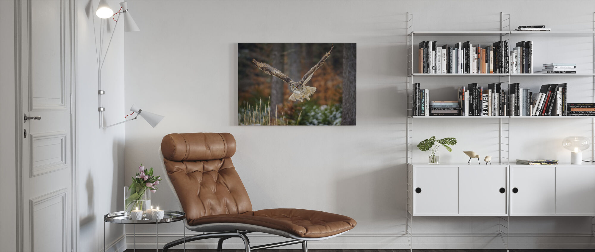 Bird of Prey - Canvas print - Living Room