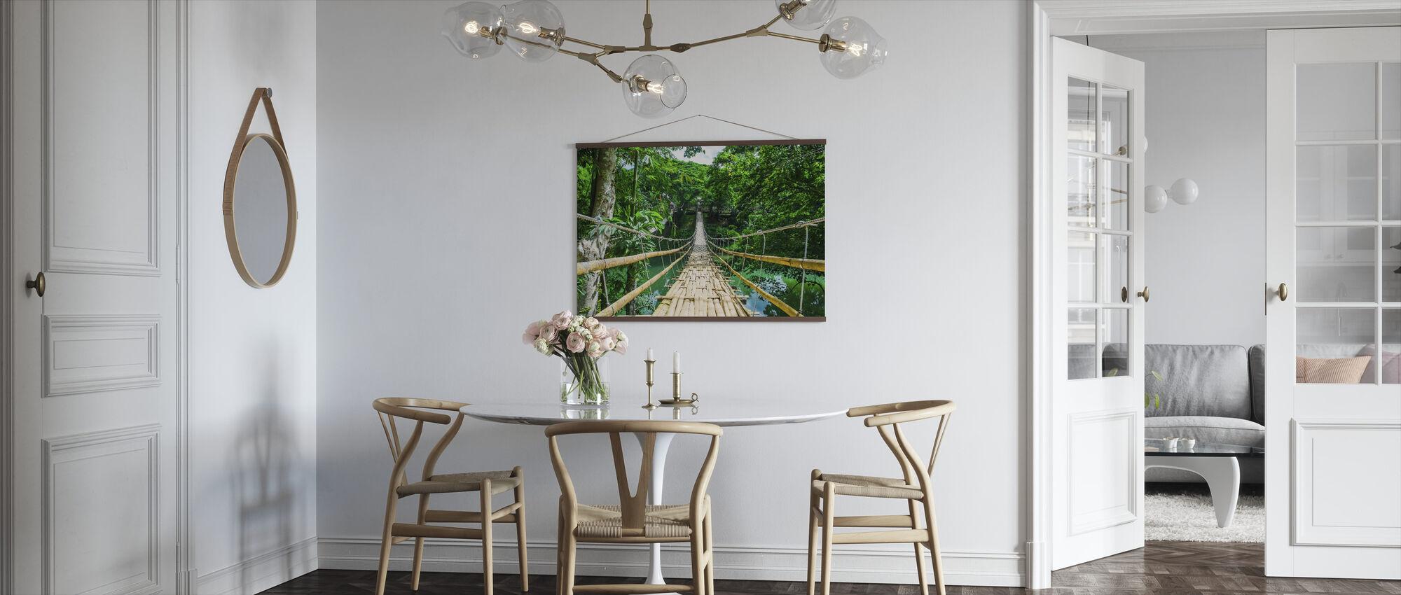 Bridge in the Tropics - Poster - Kitchen