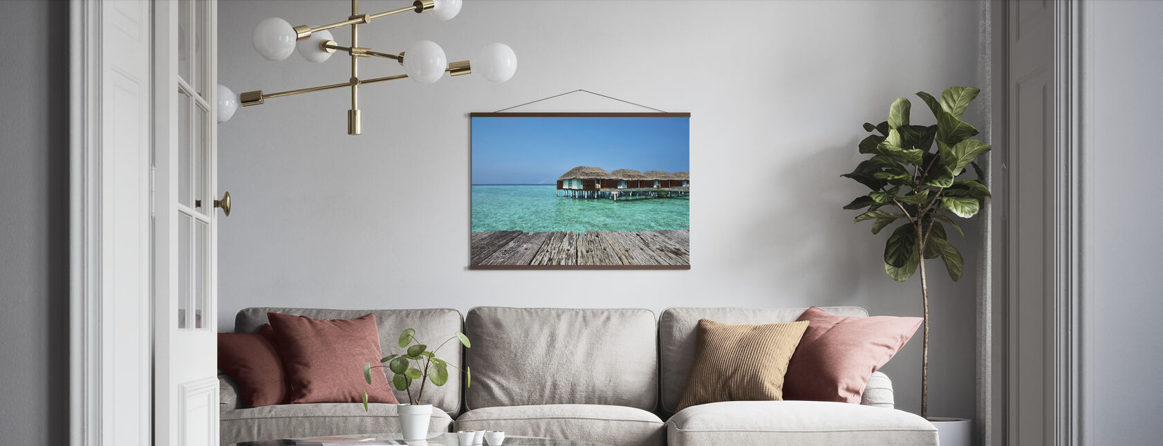 Holiday View - Poster - Living Room