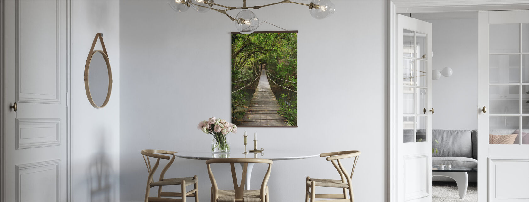 Rainforest Vine Bridge - Poster - Kitchen