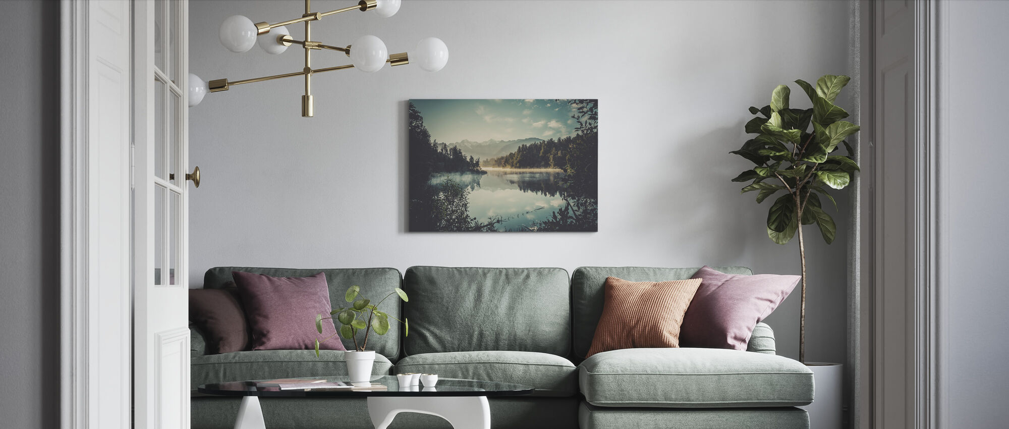 Travel Memories - Canvas print - Living Room