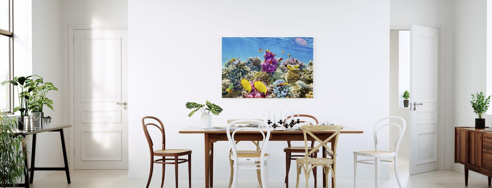Under havet - Canvastavla - Kök
