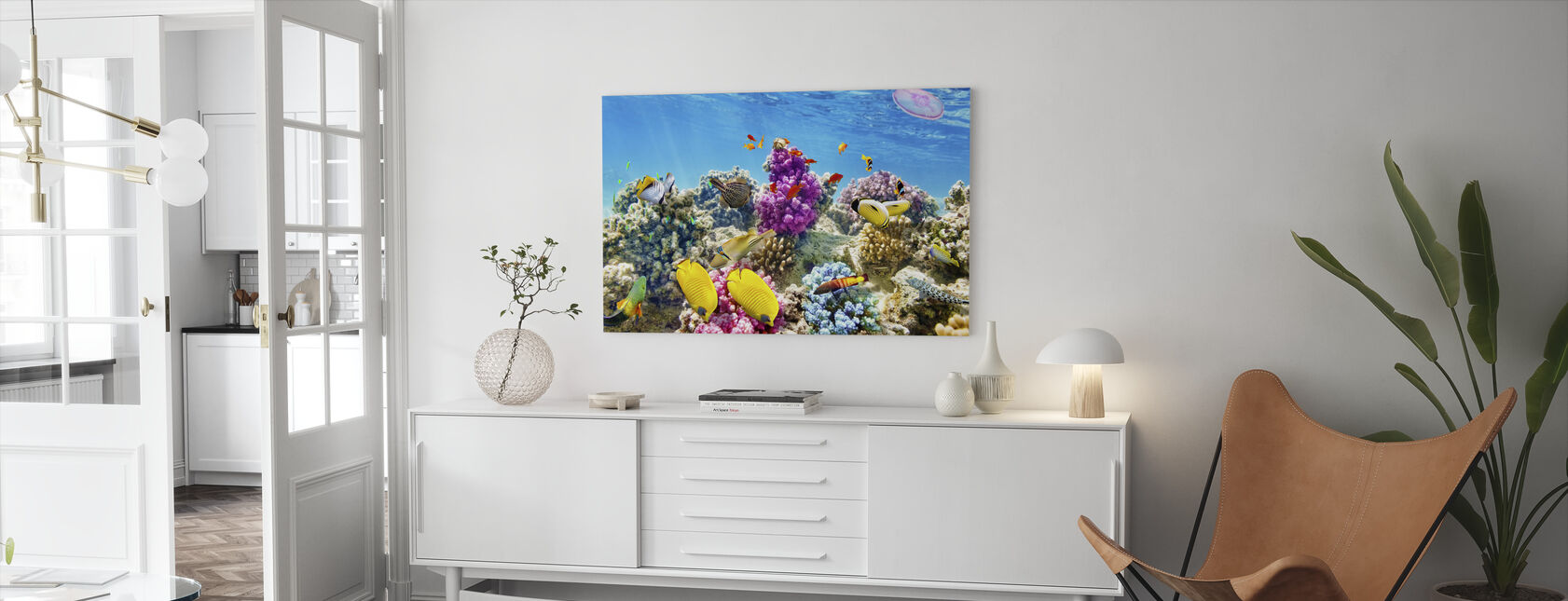 Under the Sea - Canvas print - Living Room