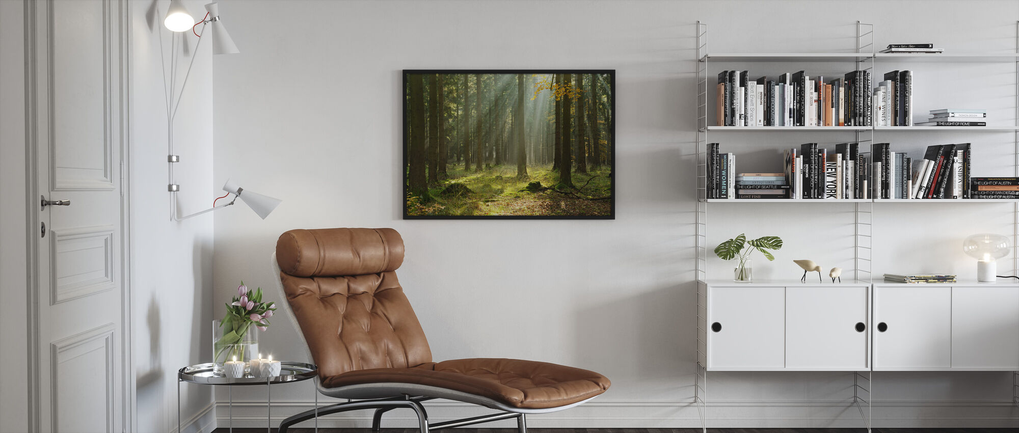 Ethereal Forest - Framed print - Living Room