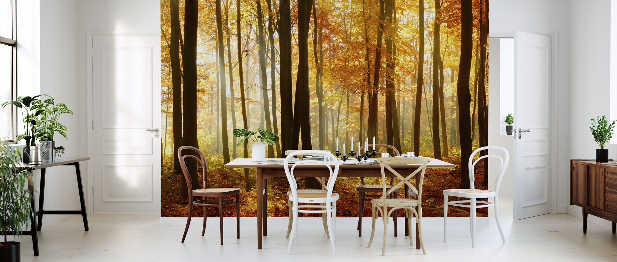 Japanese Forest - Wallpaper - Kitchen