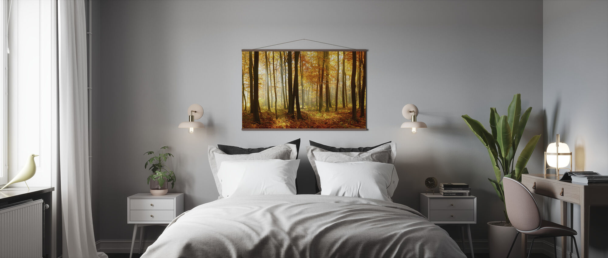 Japanese Forest - Poster - Bedroom
