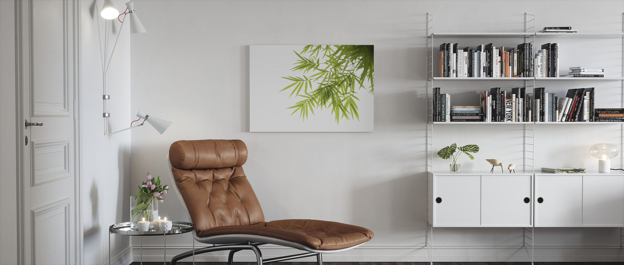 Springtime Leaves - Canvas print - Living Room