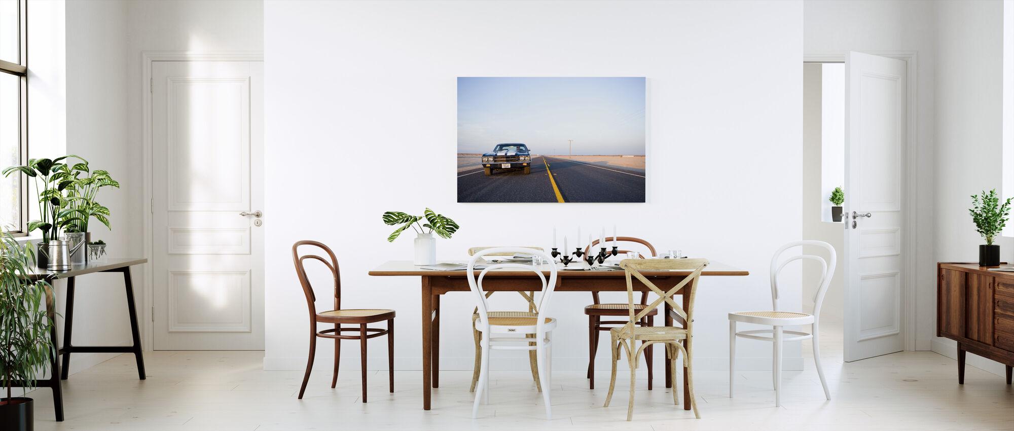 Drivin on 9 - Canvas print - Kitchen