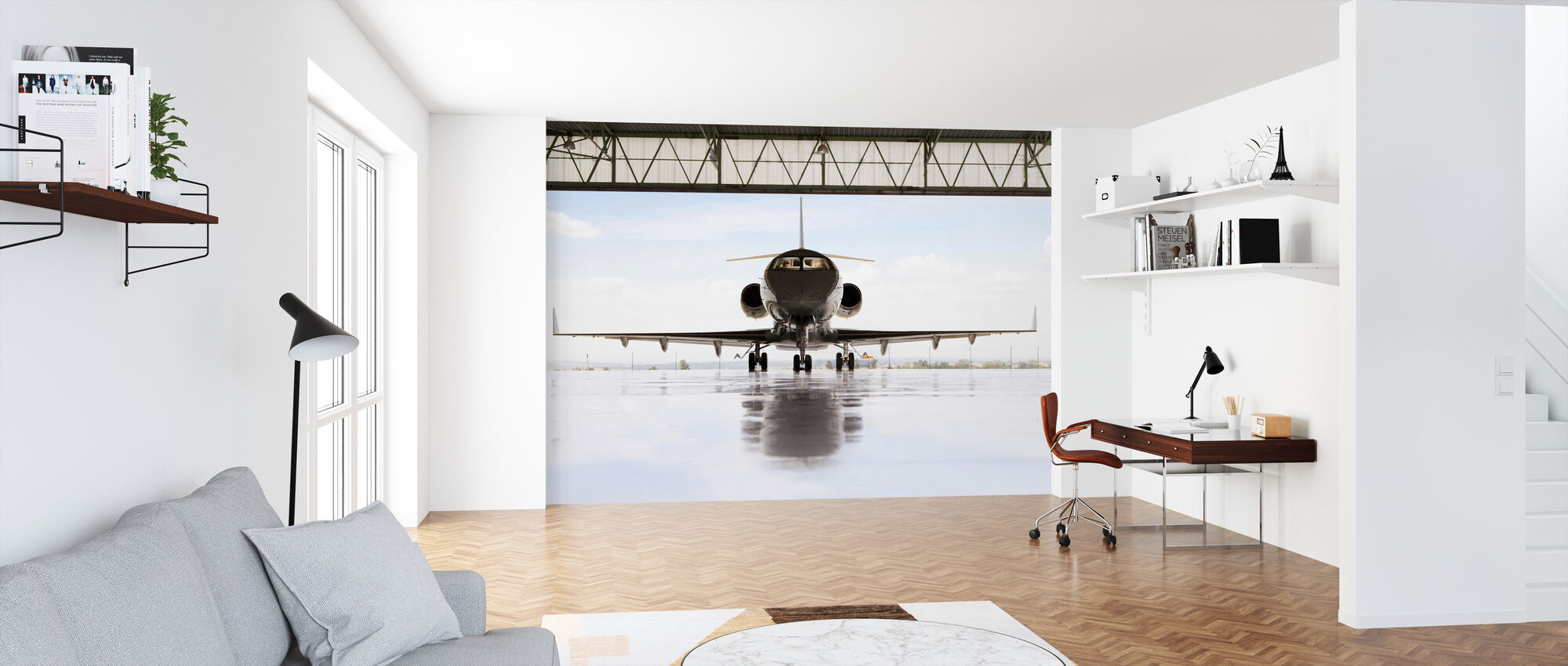 Getting Ready for Take Off - Wallpaper - Office