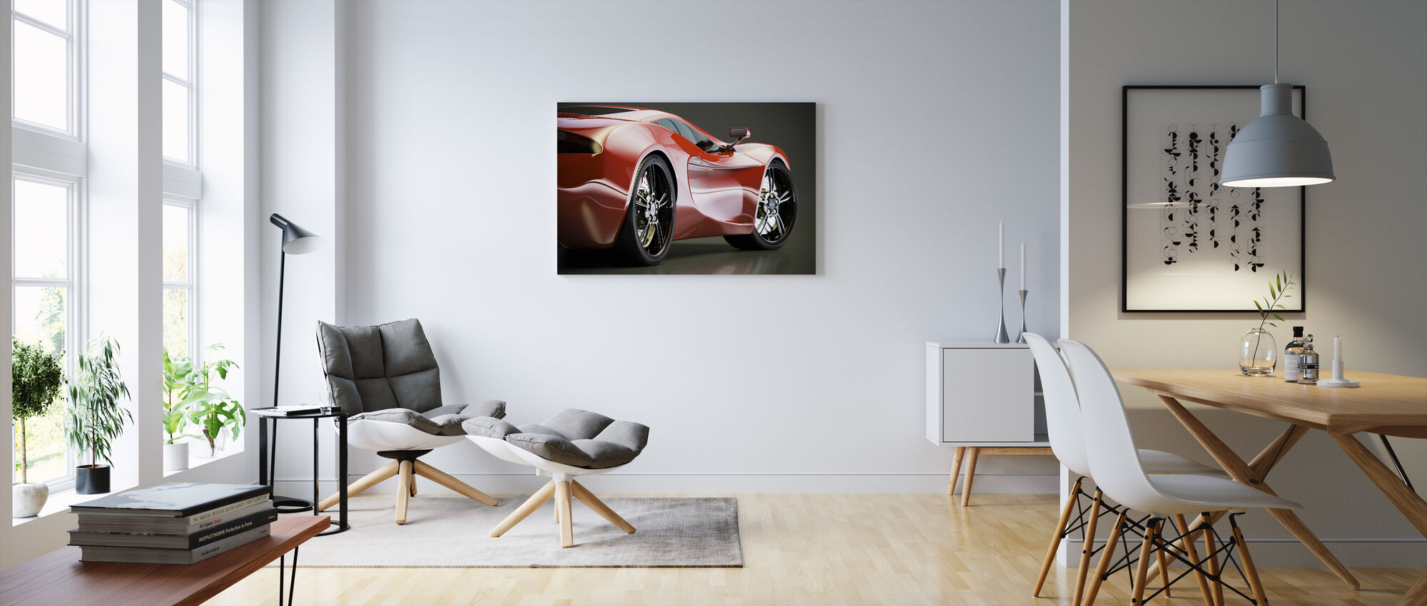 Sports Car - Canvas print - Living Room