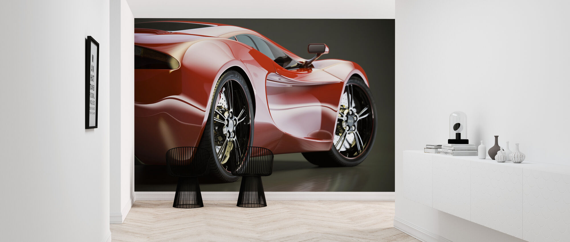 Sports Car - Wallpaper - Hallway