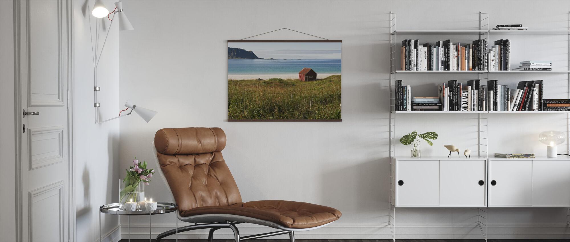 Sommer i arktisk landskap - Plakat - Stue