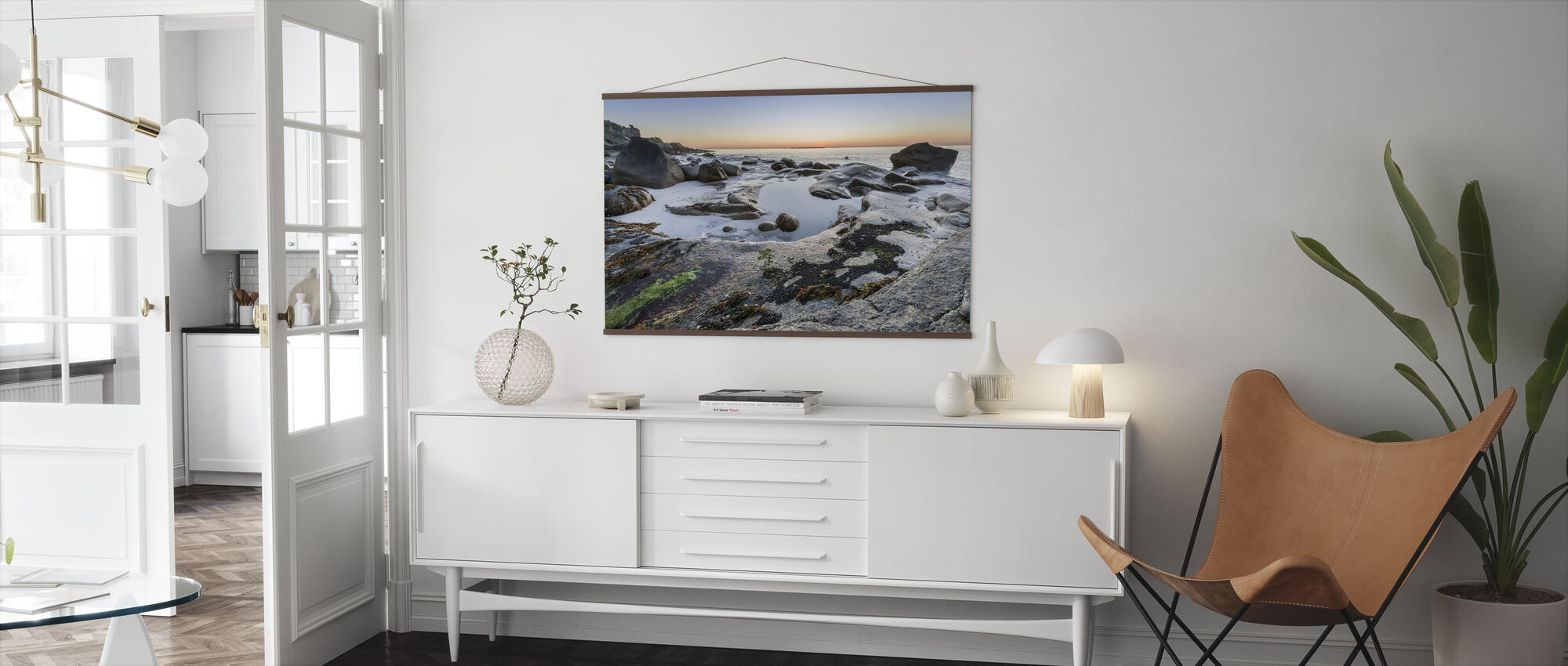 Lofoten Coastline - Poster - Living Room