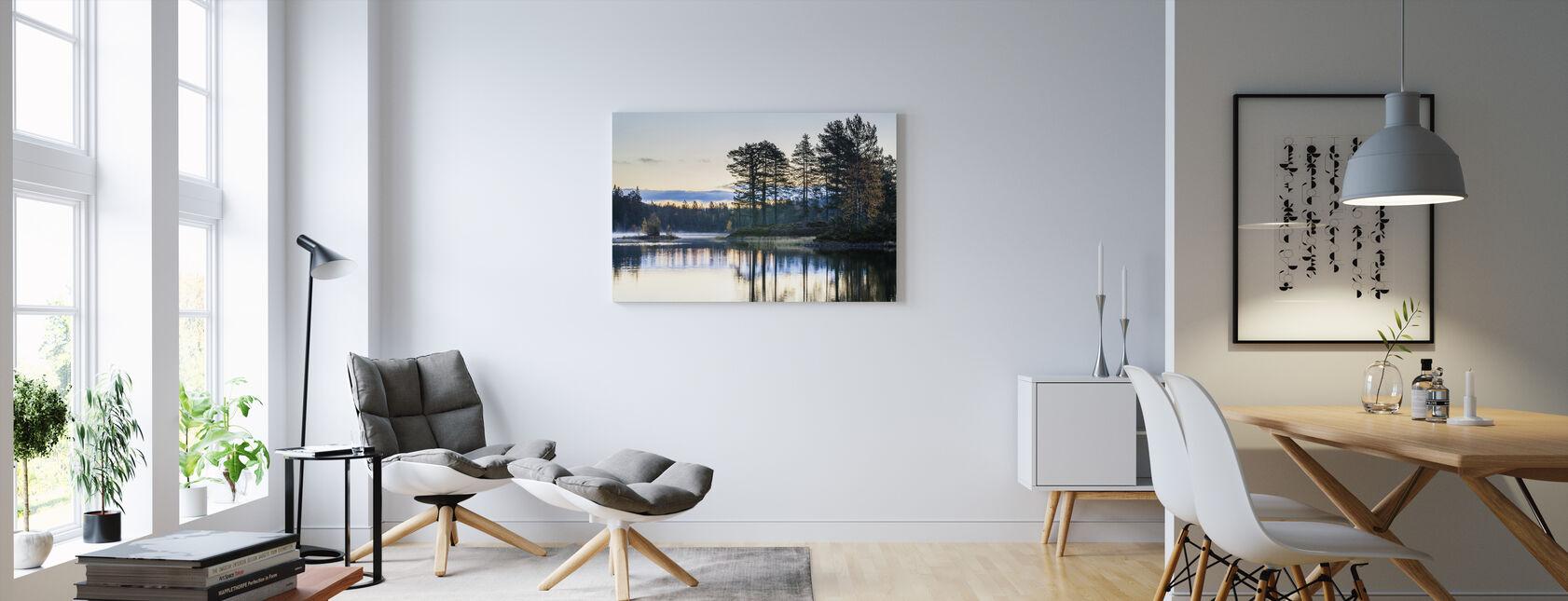 Skog i Drammen, Norge - Canvastavla - Vardagsrum