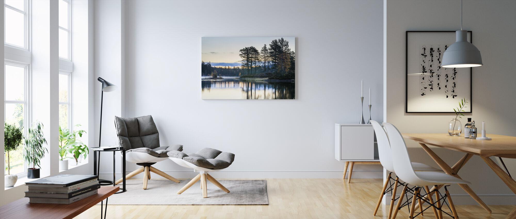 Bos in Drammen, Noorwegen - Canvas print - Woonkamer