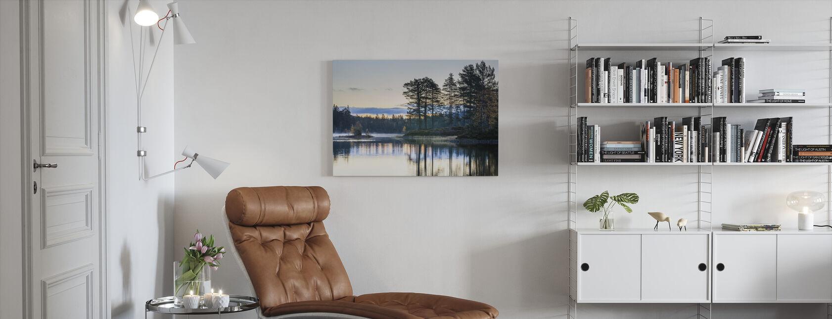Metsä Drammen, Norja - Canvastaulu - Olohuone