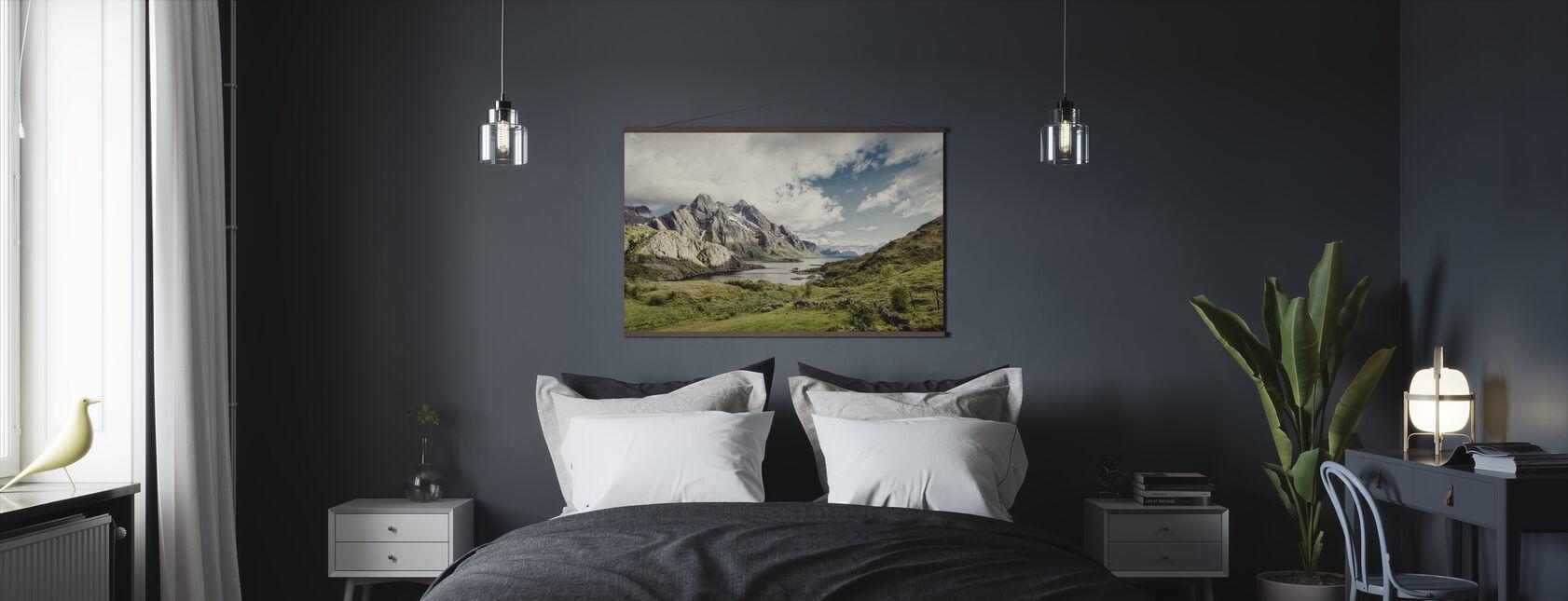 Himmeltindan, Norwegen - Poster - Schlafzimmer