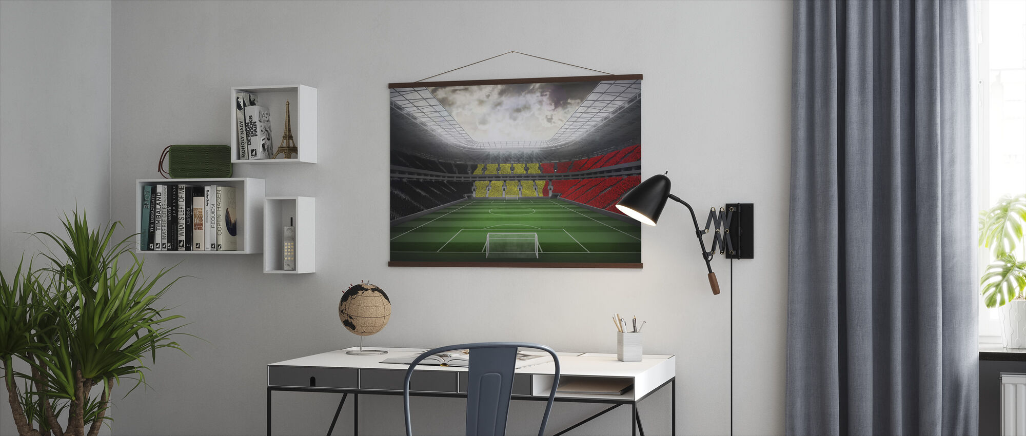 Giant Soccer Stadium - Poster - Office