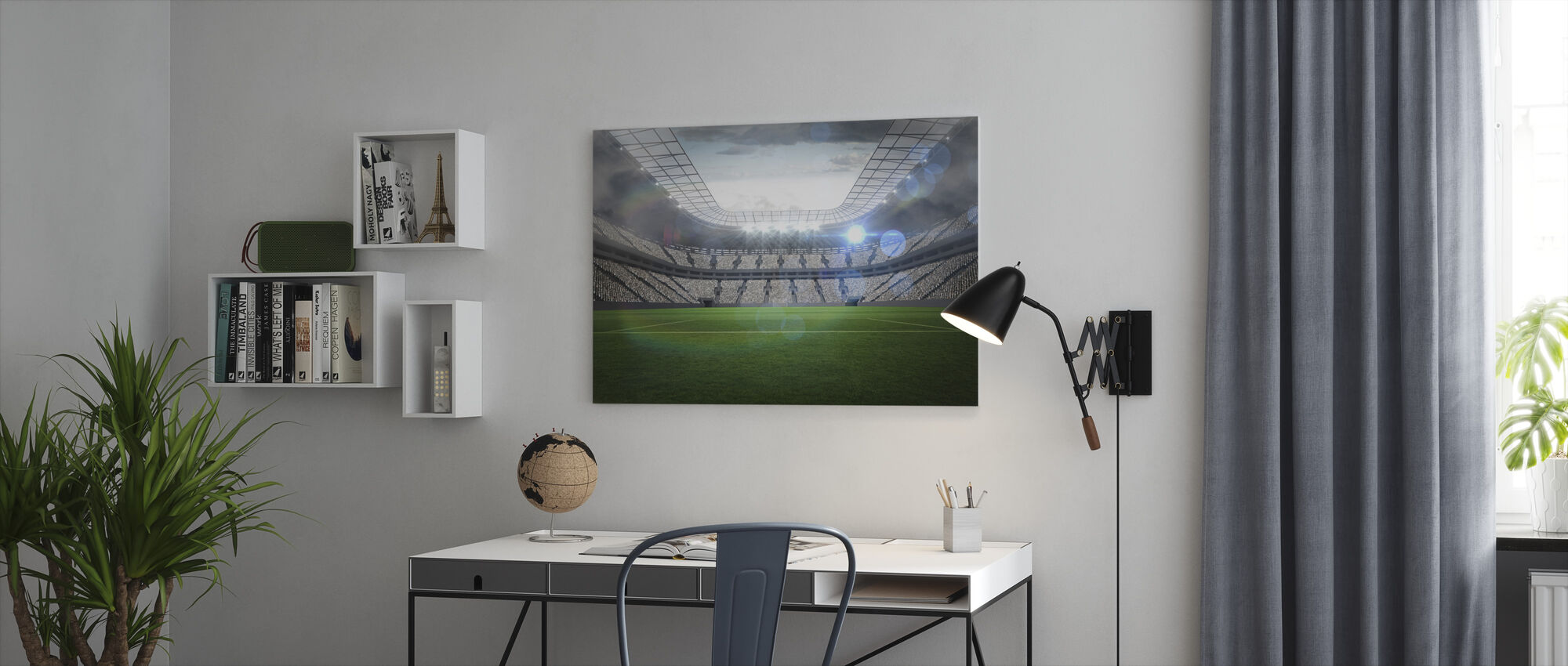 Soccer Arena - Canvas print - Office