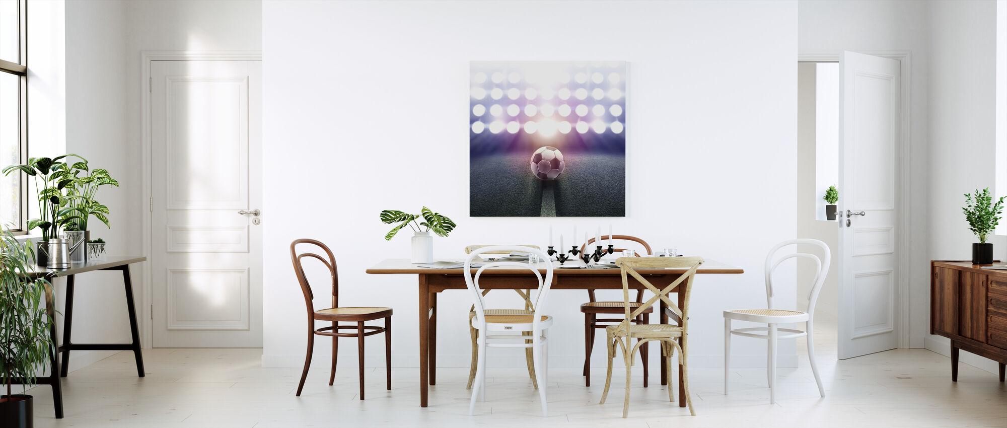 Spotlight Fotboll - Canvastavla - Kök