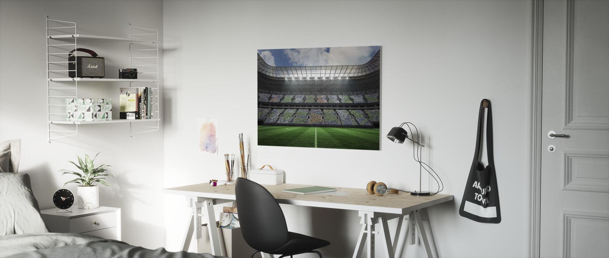 Stadion Aansteker - Canvas print - Kinderkamer