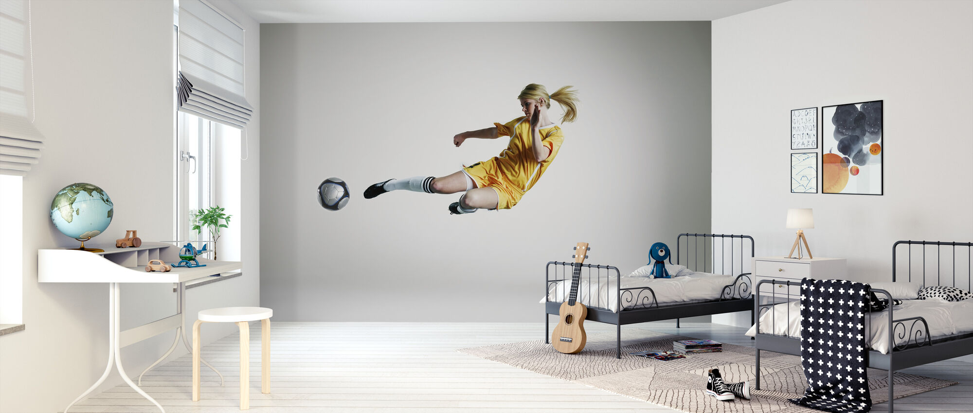 Skilled Player - Wallpaper - Kids Room