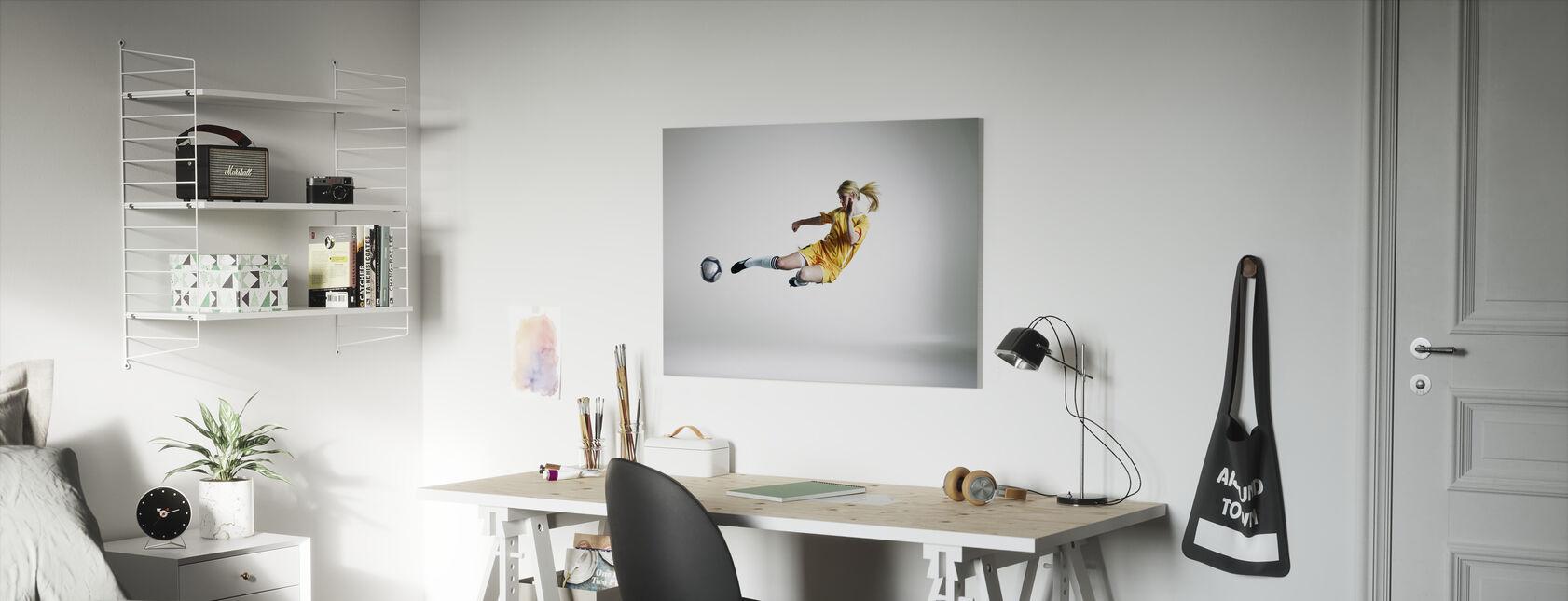 Taitava pelaaja - Canvastaulu - Lastenhuone