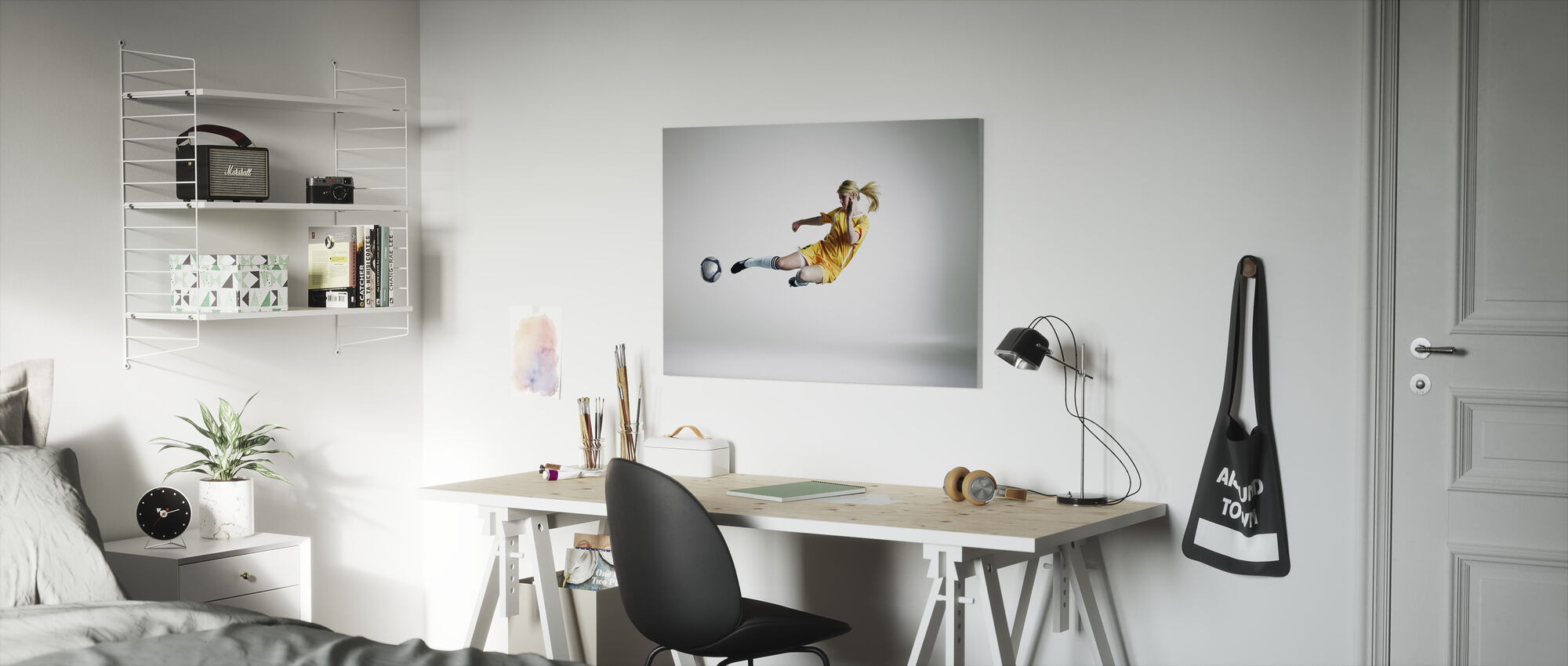 Skilled Player - Canvas print - Kids Room