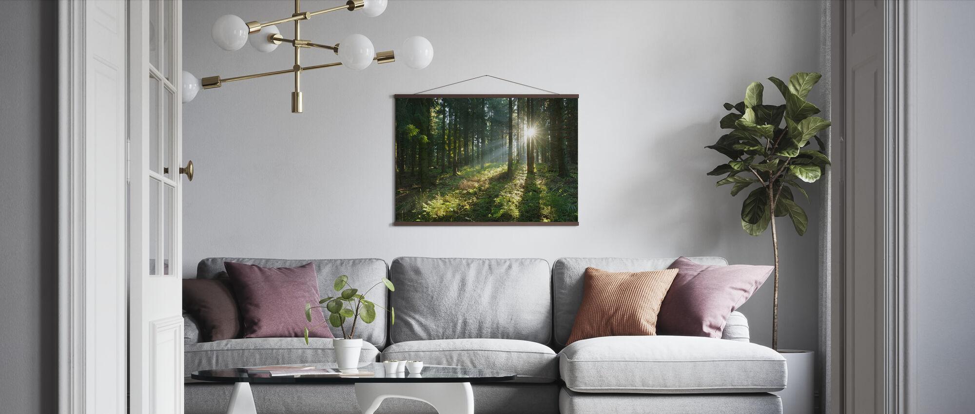 Saga Vildmark - Poster - Vardagsrum