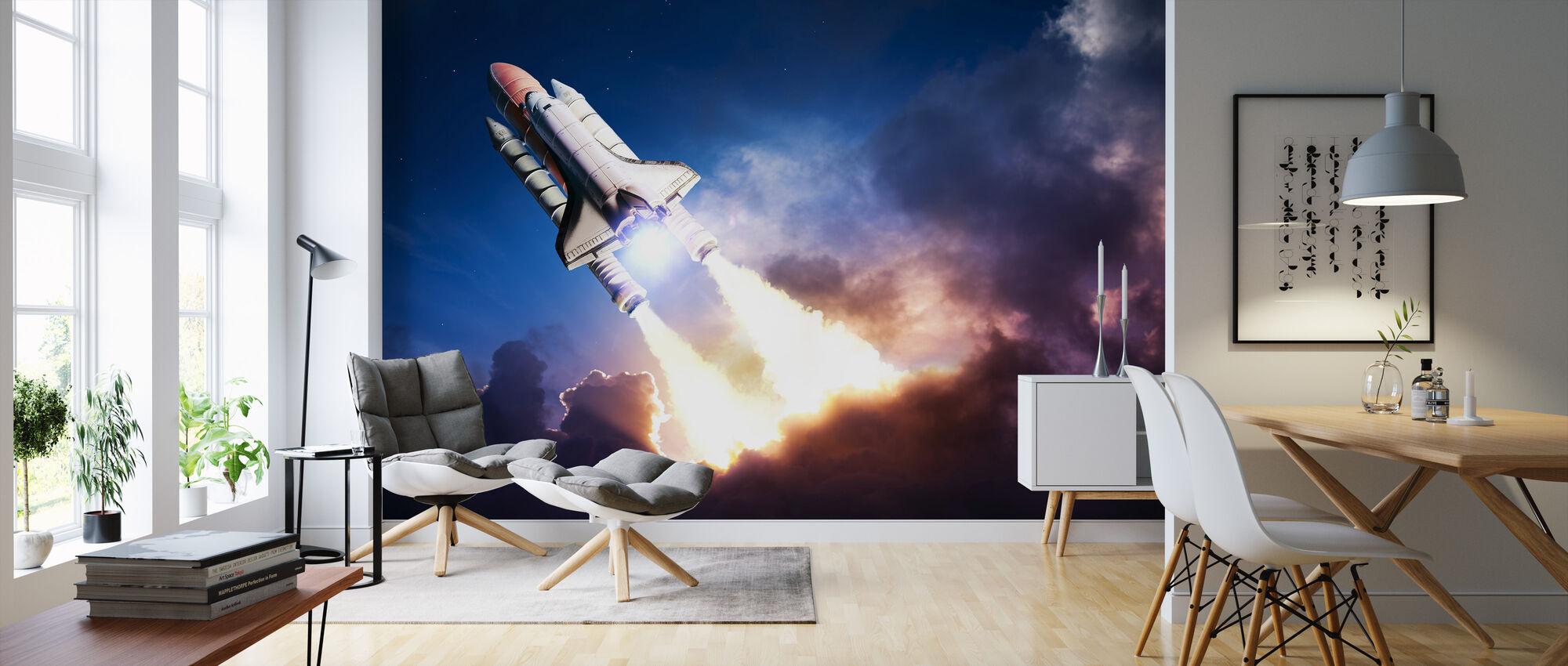 Space Adventure - Wallpaper - Living Room