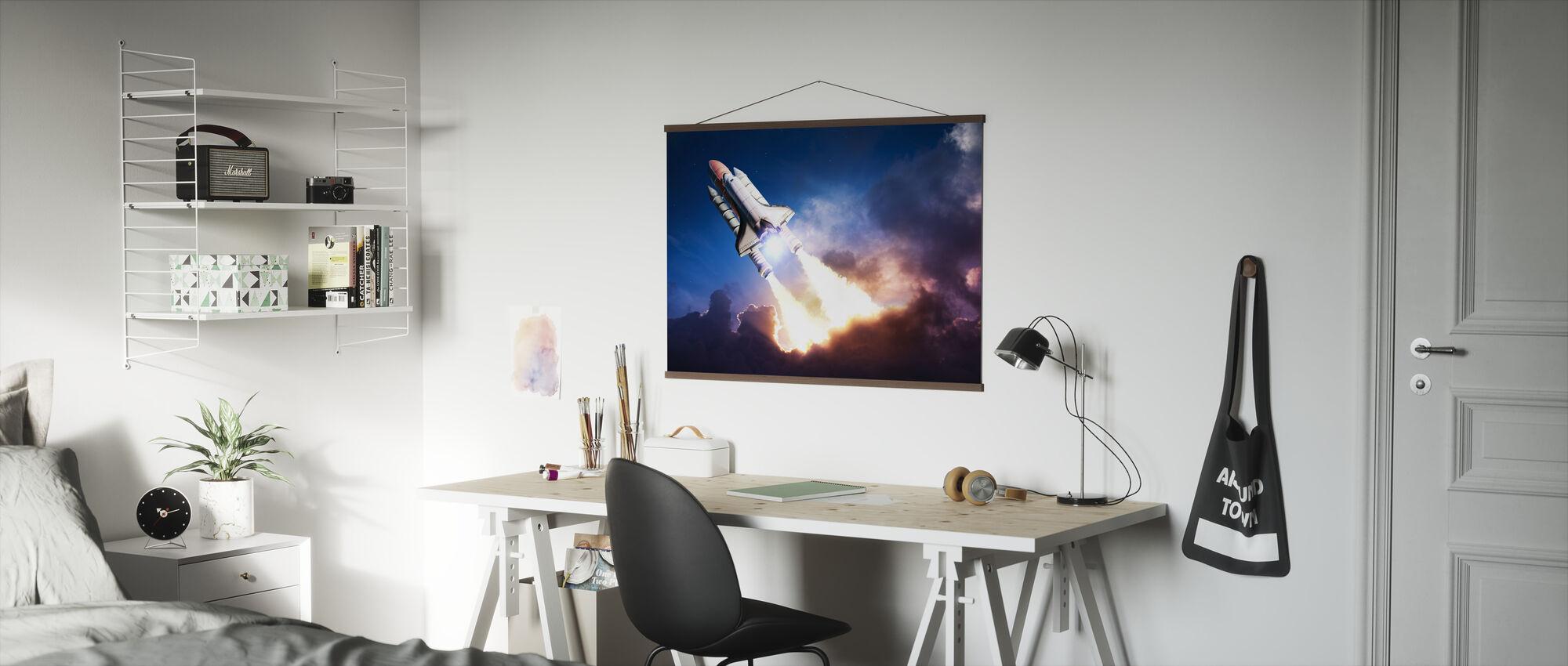 Space eventyr - Plakat - Kontor