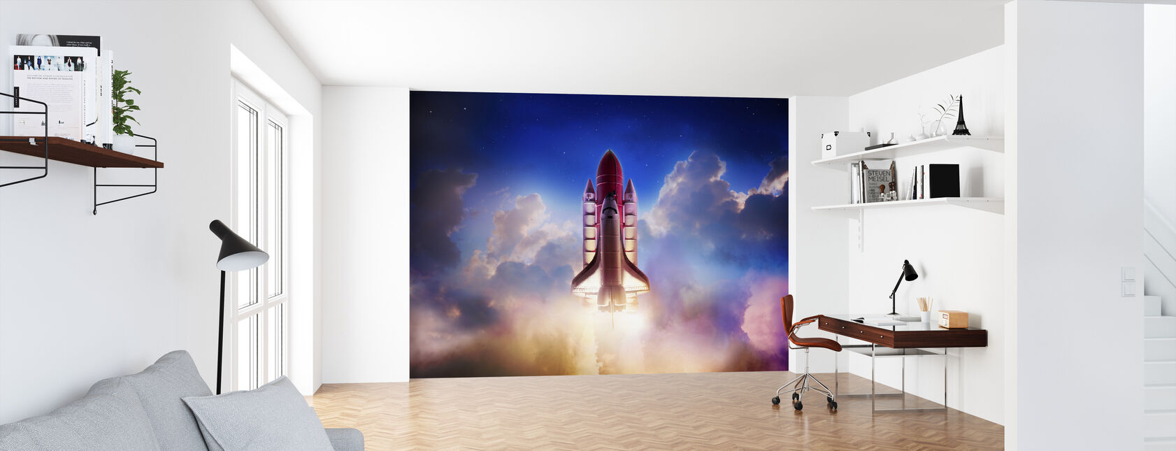 Thrust into Space - Wallpaper - Office