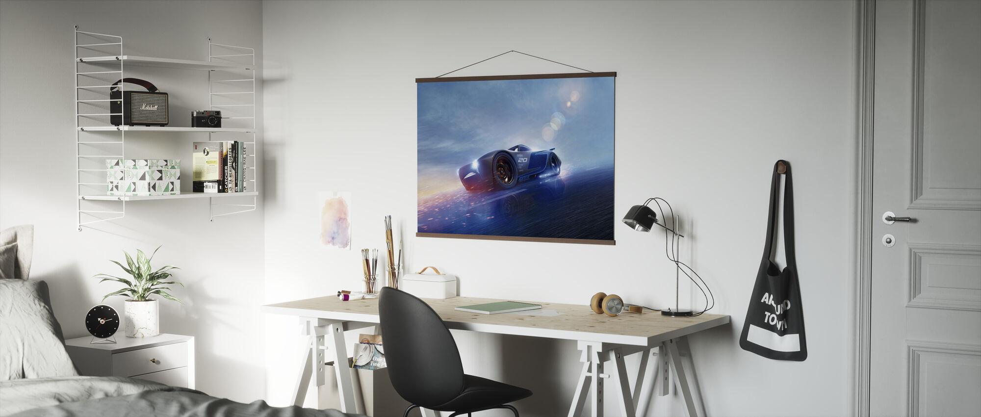 Biler 3 - Jackson Storm 2.0 - Plakat - Kontor