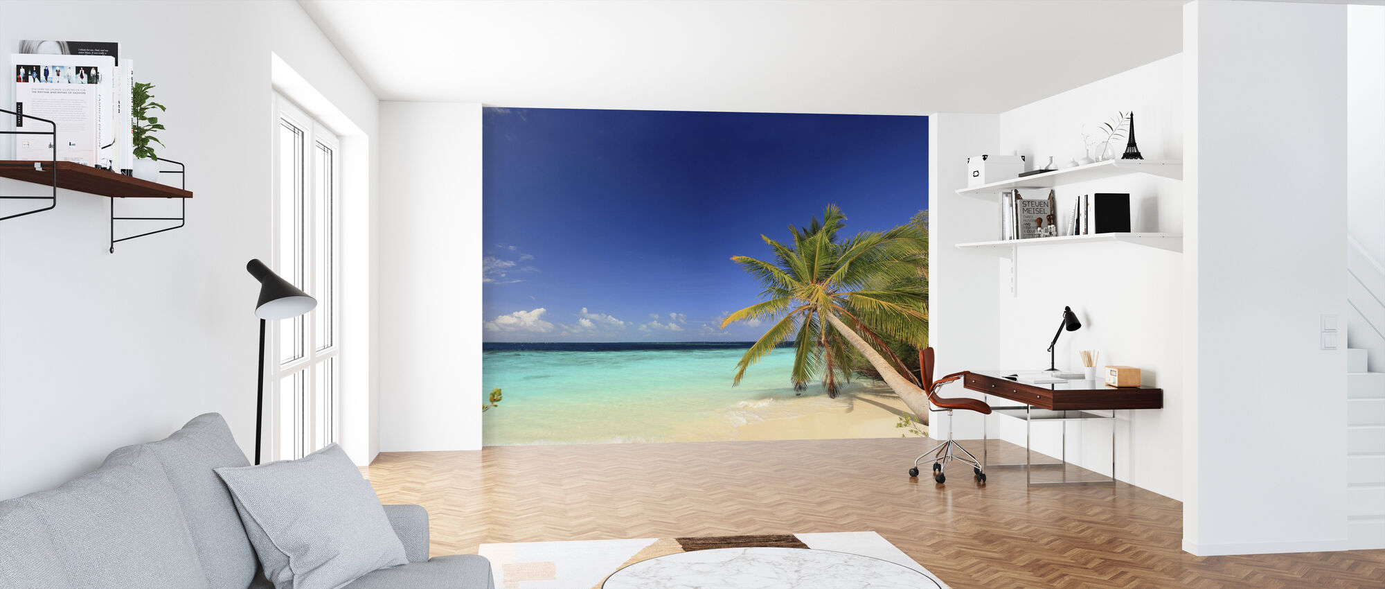 Beach Harmony - Wallpaper - Office