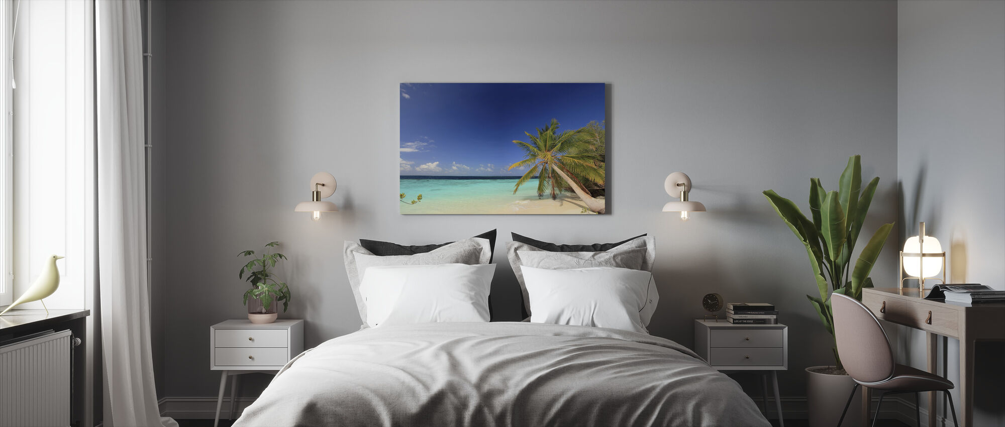 Beach Harmony - Canvas print - Bedroom