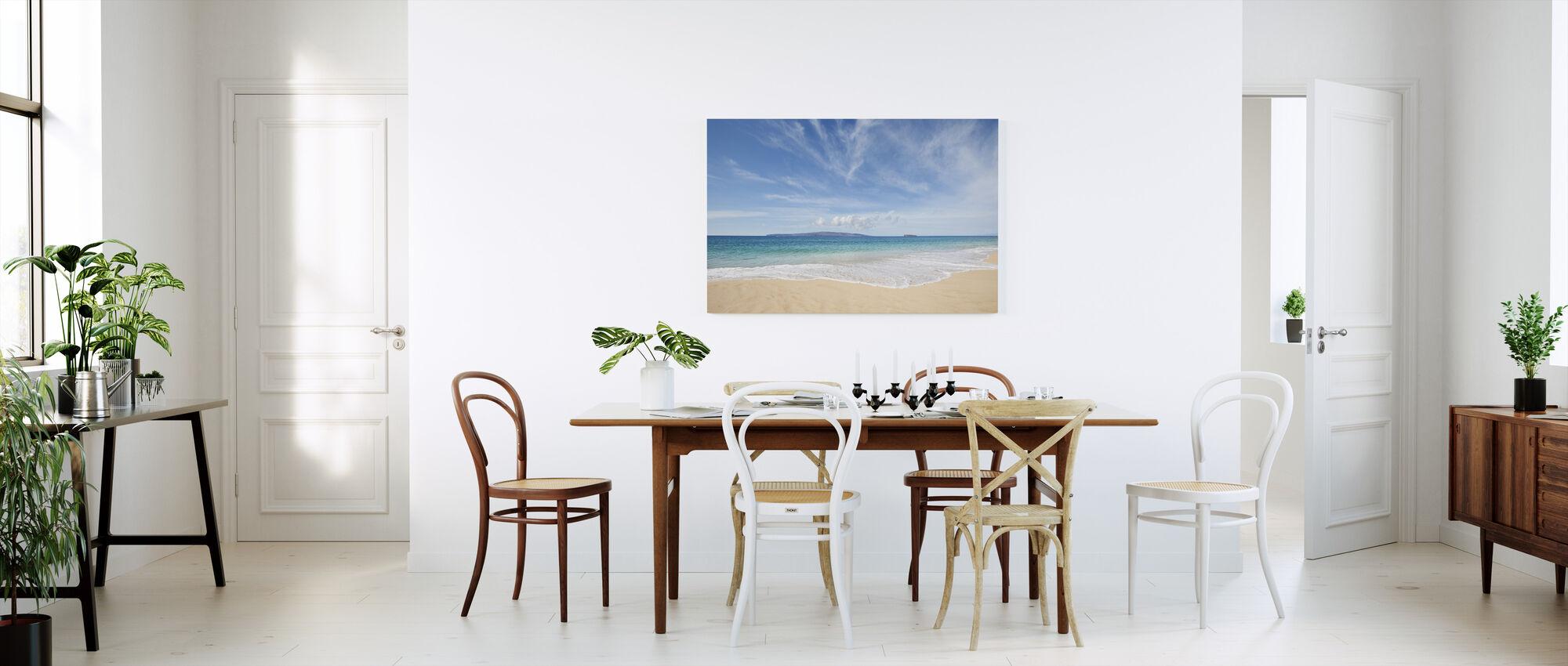 Beyond Paradise - Canvas print - Kitchen