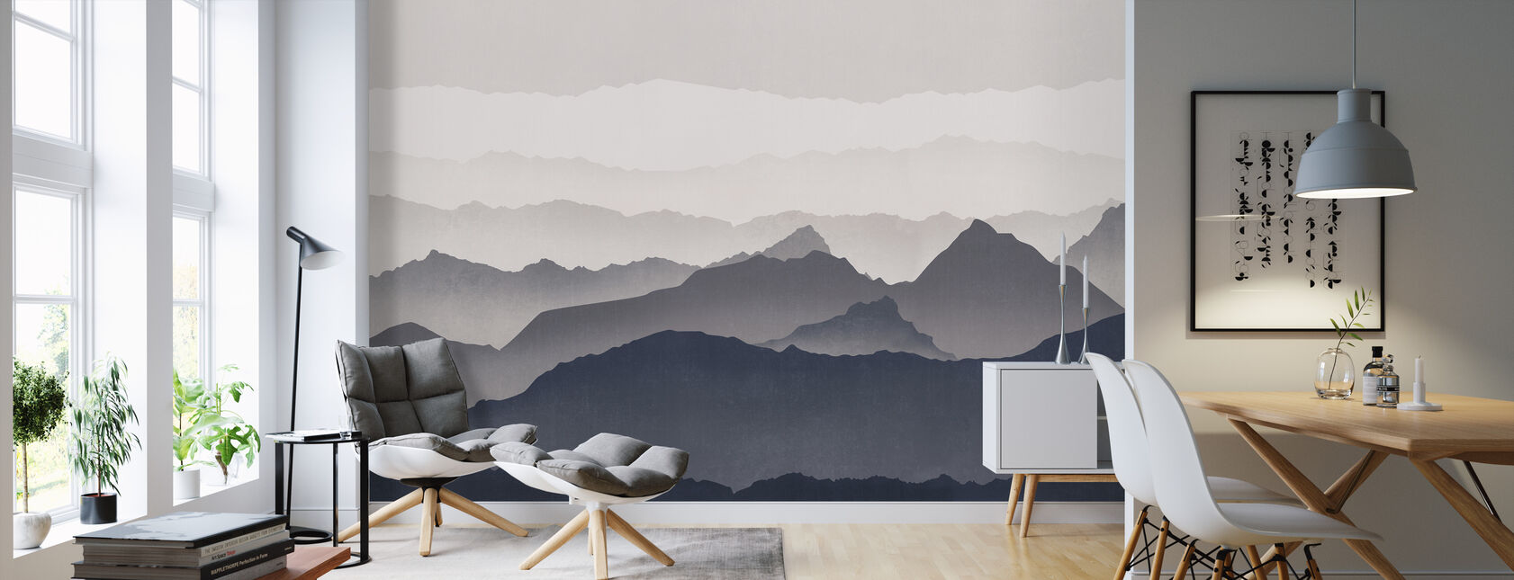 landscapes wall murals for every room photowall. Black Bedroom Furniture Sets. Home Design Ideas