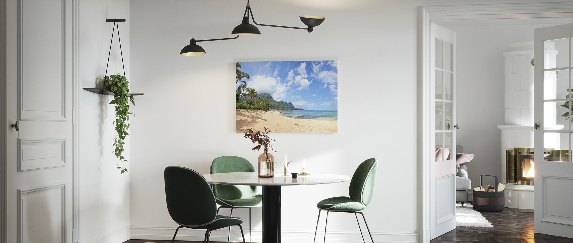 Hawaiian Beach Pit - Canvas print - Kitchen