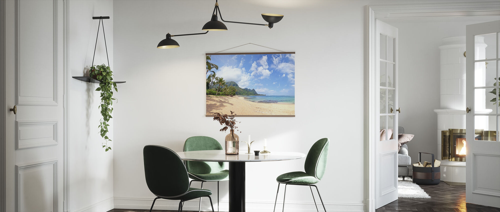 Hawaiian Beach Pit - Poster - Kitchen
