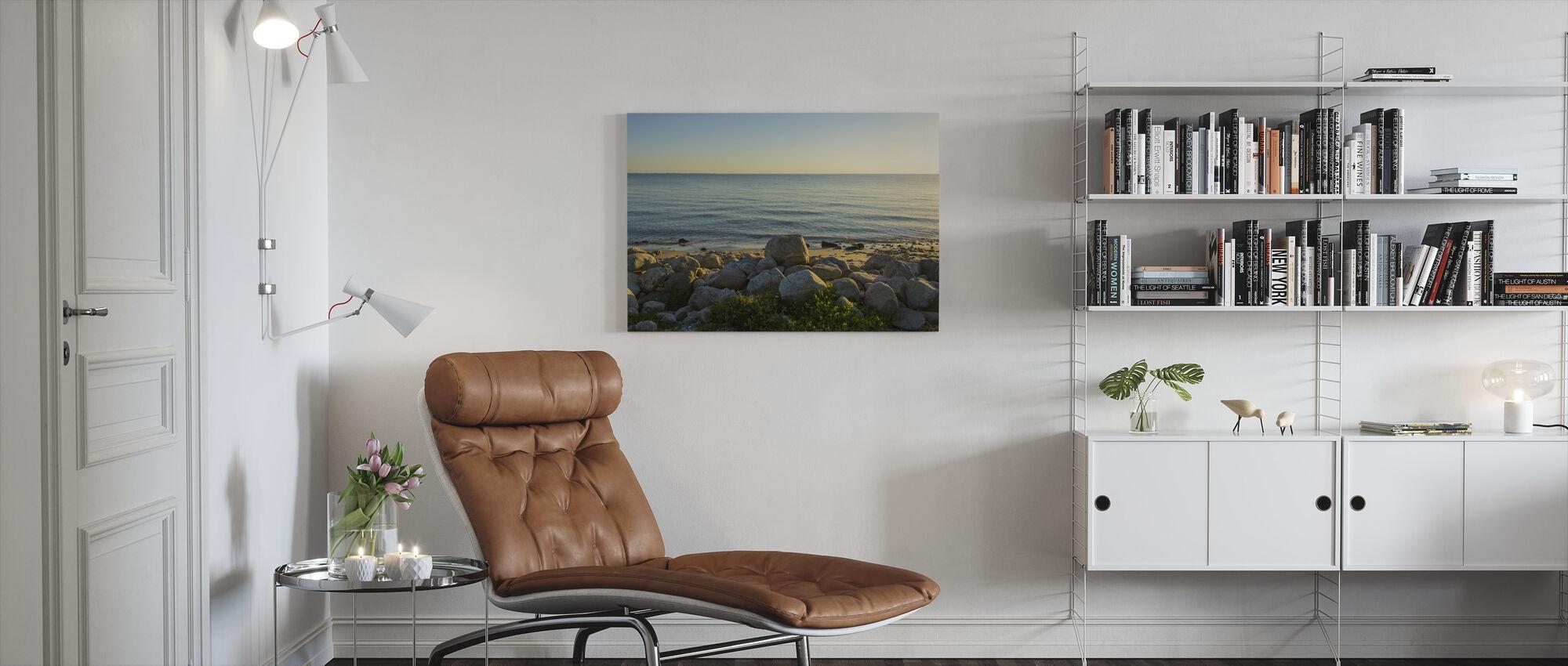 Odsherred Beach, Denmark - Canvas print - Living Room