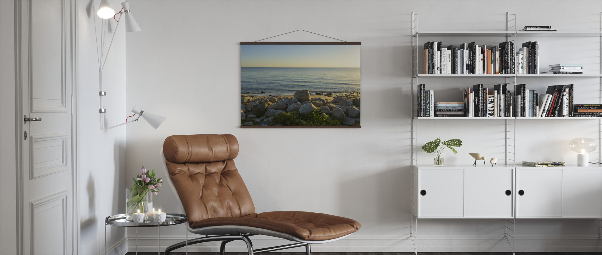 Odsherred Beach, Denmark - Poster - Living Room