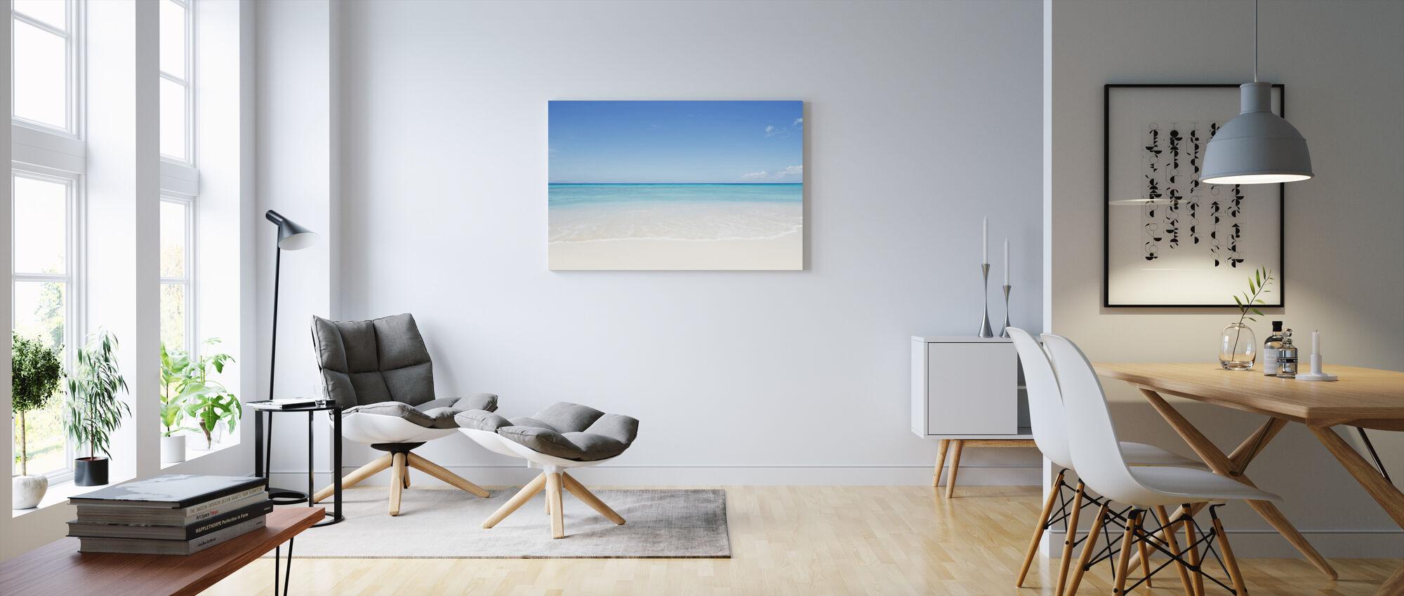 Perfekt Horisont - Canvastavla - Vardagsrum