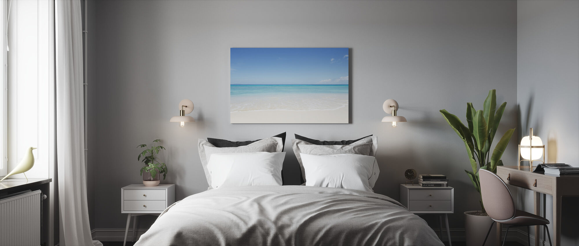 Perfect Horizon - Canvas print - Bedroom