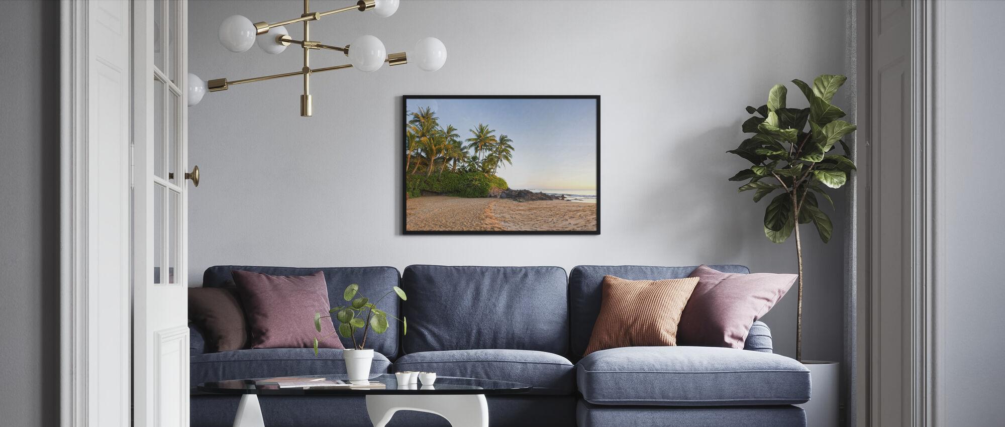 Sunset Beach - Innrammet bilde - Stue