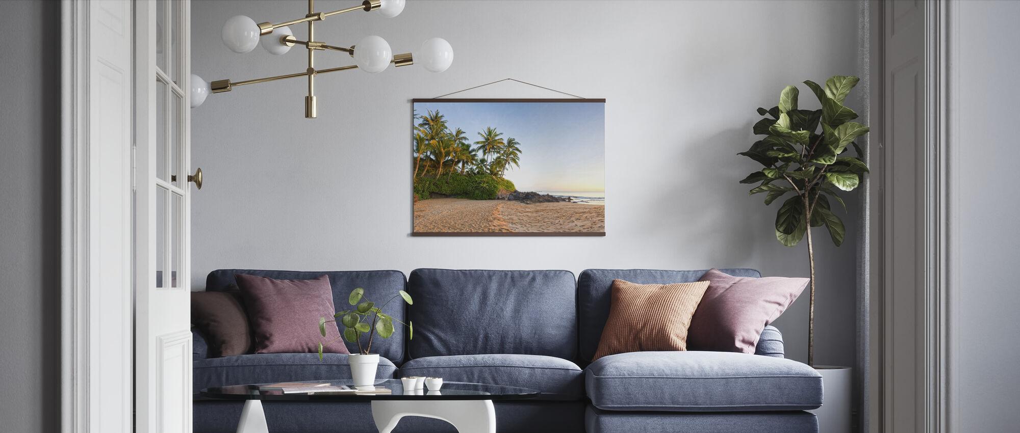 Sunset Beach - Poster - Living Room