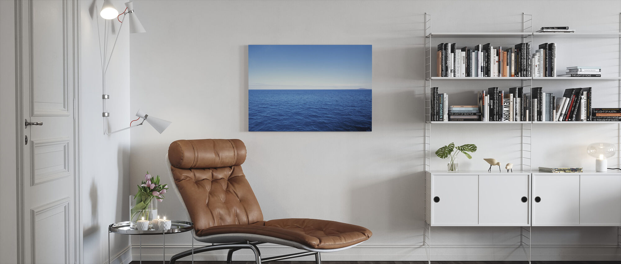 The Big Blue - Canvas print - Living Room