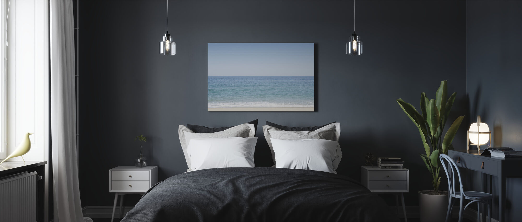 Tied to the Ocean - Canvas print - Bedroom