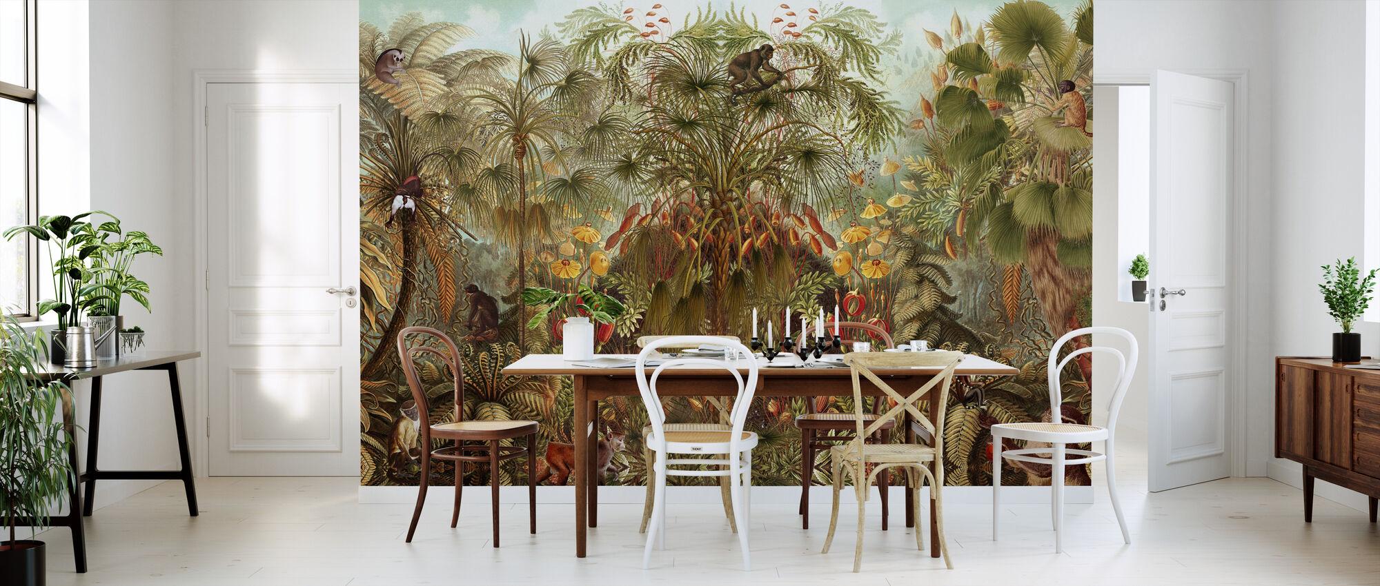 Monkey See Monkey Wah - Wallpaper - Kitchen