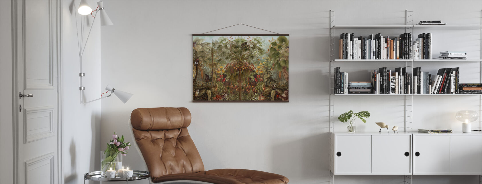 Monkey See Monkey Wah - Poster - Living Room