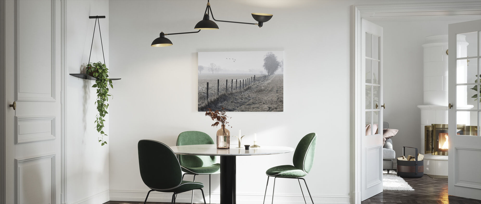 Foggy Morning - Canvas print - Kitchen